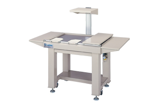 Table type vibration isolation frame